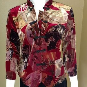 2 Piece Clio Jacket & Skirt Medium Asian Influence